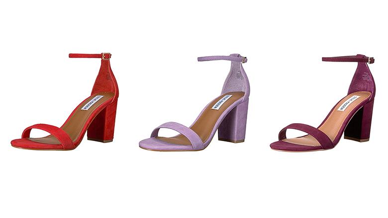 steve madden block heel sandals, block heels, block heel shoes, block heel sandals
