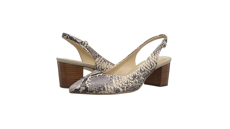 slingback pumps, block heels, block heel shoes, block heel pumps