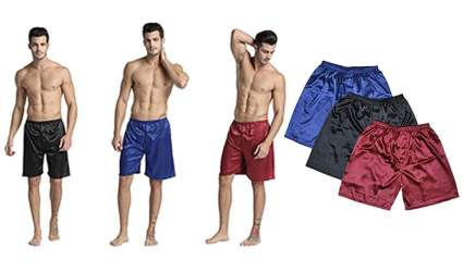 tony and candice mens satin boxers 3-pack