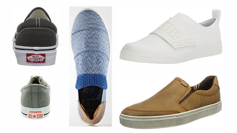 mens slip on sneakers