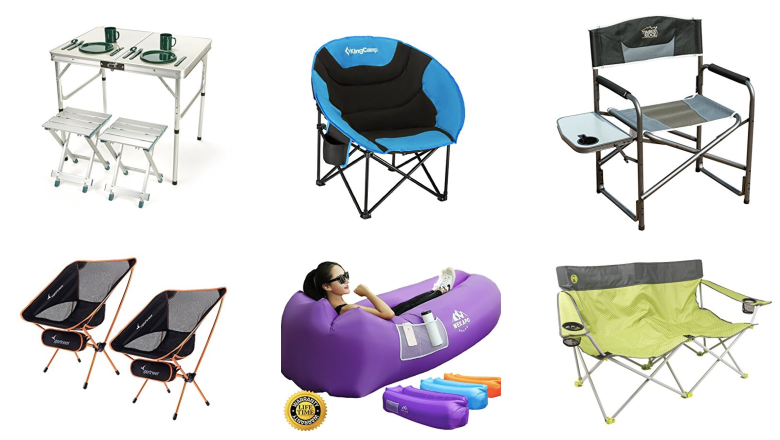 best camping chairs, festival camping chairs