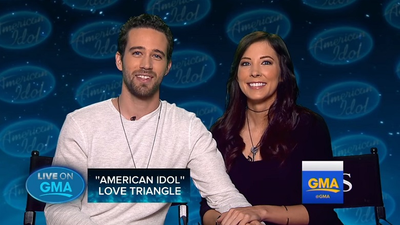 Katy Perry Crush, Trevor Holmes American Idol, Trevor Holmes Girlfriend Sierra Nielsen