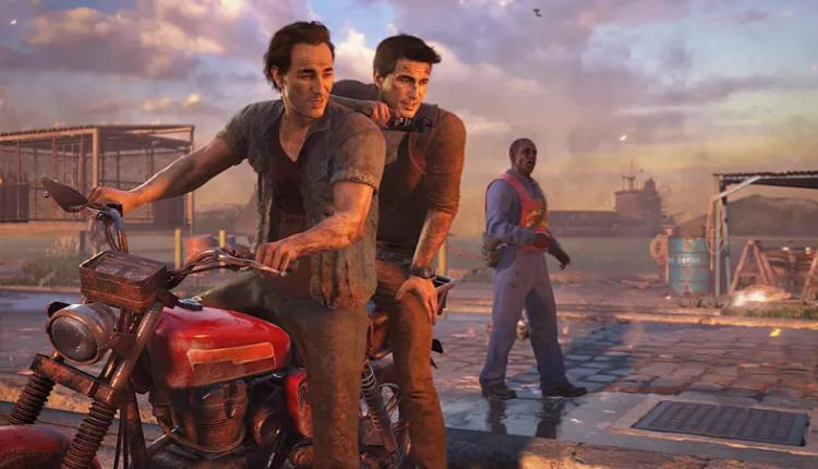 a screenshot of the uncharted 4 at thiefs end gameplay