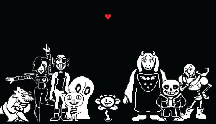 promotional image for undertale