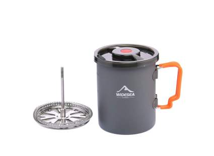 WIDESEA Camping Coffee Pot With French Press