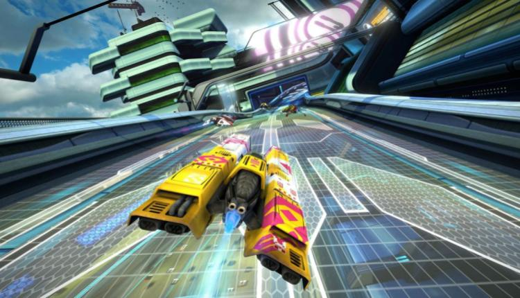 a screenshot of wipeout gameplay