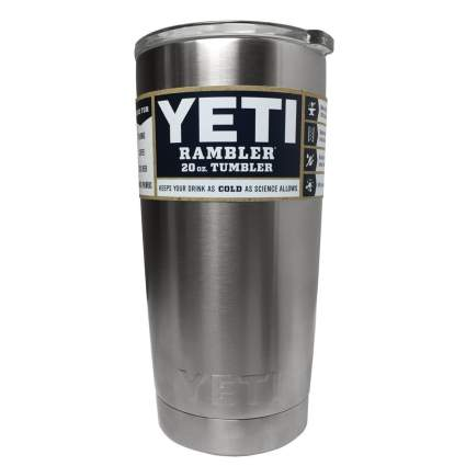 yeti, rambler, stainless steel, camp mug