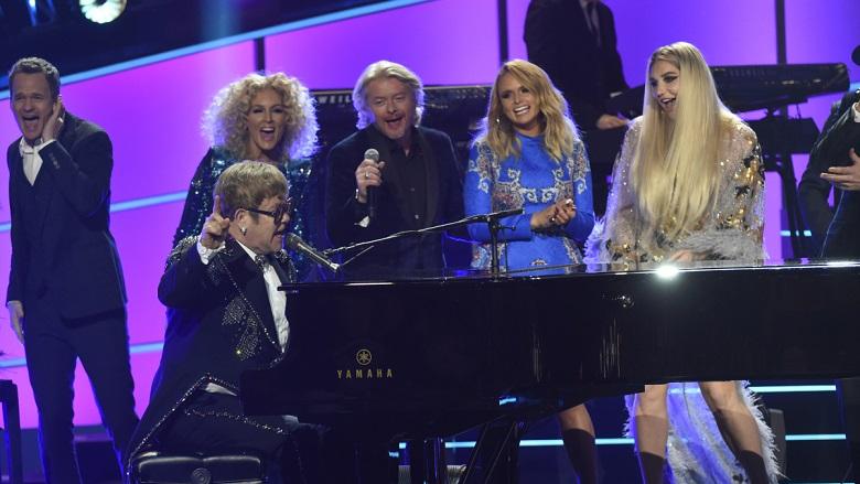 Elton John Singing With Little Big Town, Elton John Tribute Performers, Elton John TV Special 2018