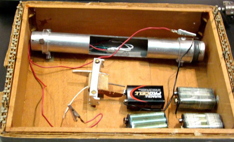 FBI/ATF reproduction of Unabomber bomb.