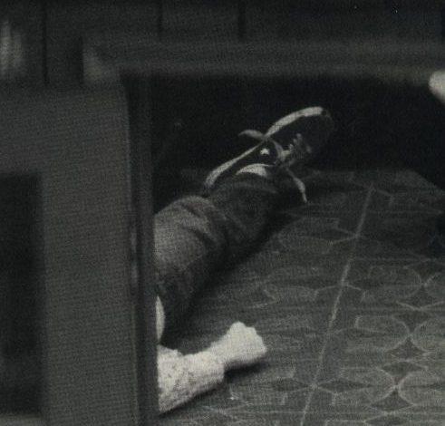 Cobain's body.