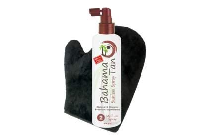 organic self tanning spray