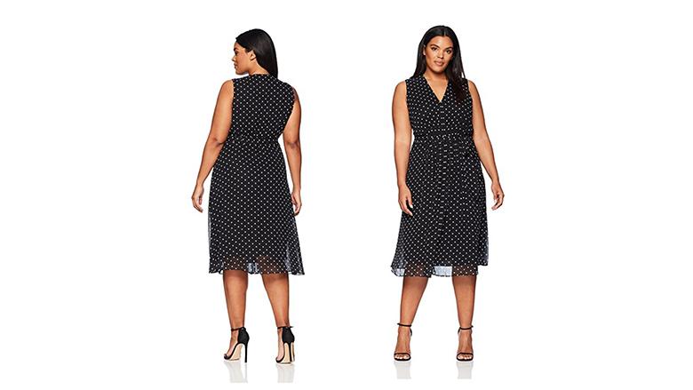 plus size midi dress, plus size little black dress, plus size black dresses, plus size lbd