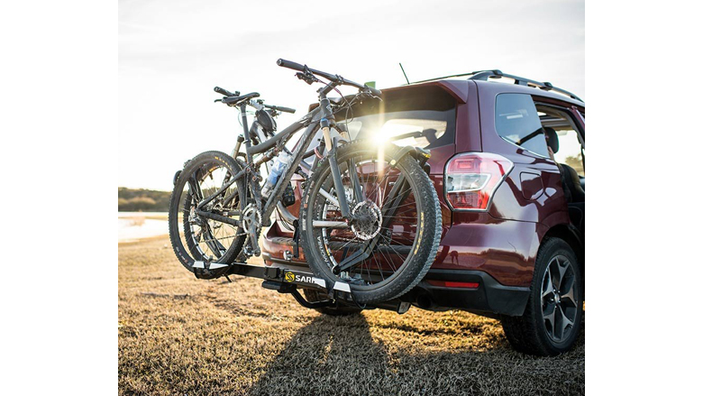 Hatchbacks,SUV Cfbcc Bicycle Rack Deluxe 2-Bike Rack for Car Mount Carrier Bicycle Racks for Auto Trunk Fits Most Car Sedans