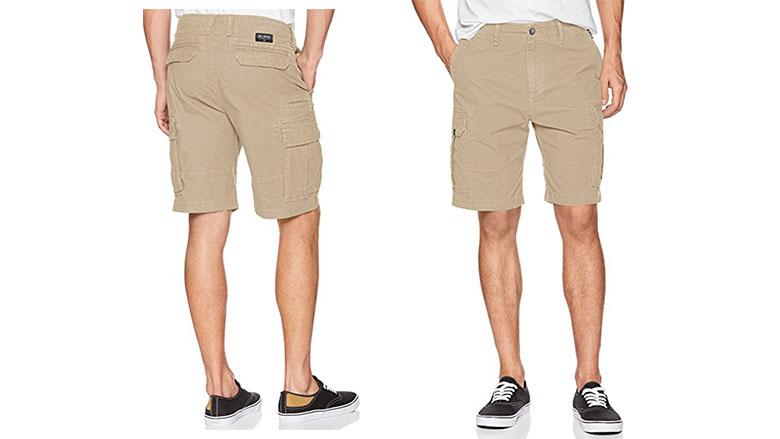 Levi/'s Carrier Cargo Men/'s Shorts Regular Fit with Cargo Hidden Snaps