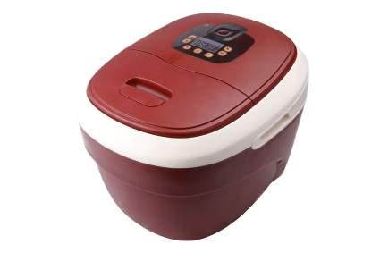 Red foot soaking tub