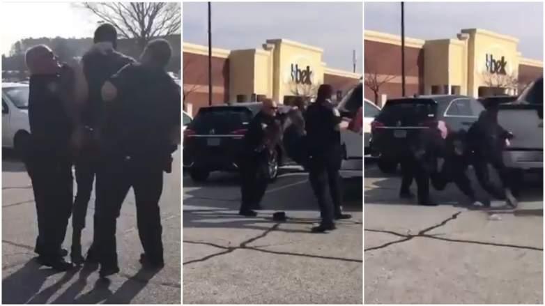 Desmond Marrow arrest video