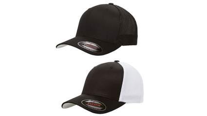 flexfit 2-pack premium trucker cap, Trucker hats, trucker hats for men, cheap trucker hat, mesh trucker hats