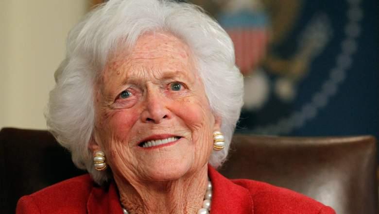 Barbara Bush Lying in Repose