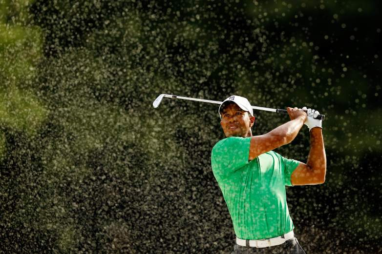 Tiger Woods at the Wells Fargo Championship