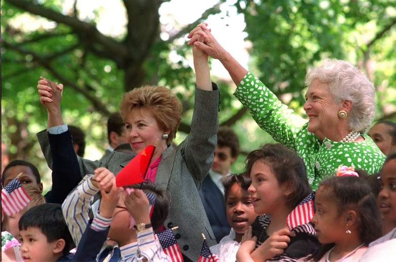 Barbara Bush speech, Wellesley speech