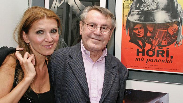 Martina Zborilova-Forman, Milos Forman Wife