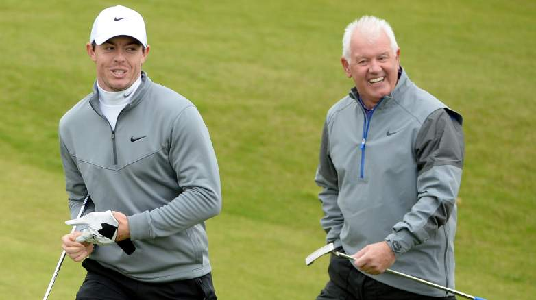 rory mcilroy, father, mother, family, parents, mom, dad