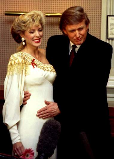 Donald Trump 'love child'