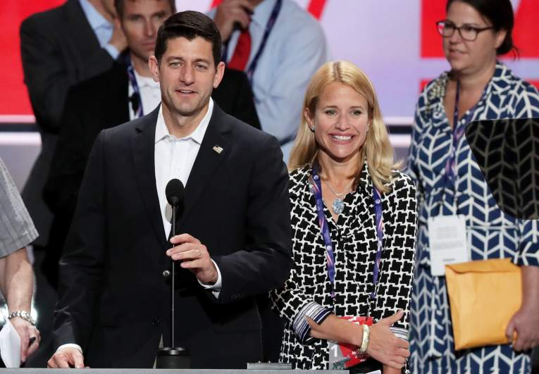 Janna and Paul Ryan