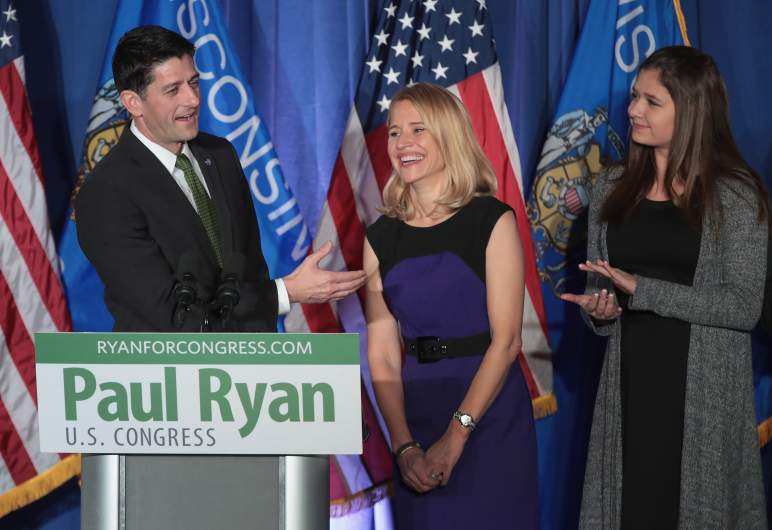 Paul Ryan and daughter