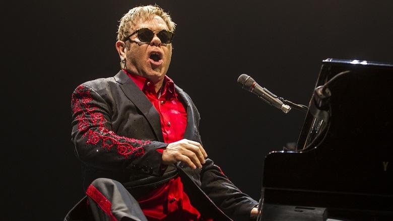 Elton John Performing, Elton John Husband David Furnish, Who Is Elton John Married To