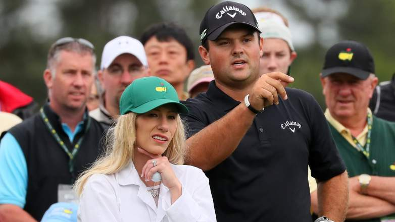 patrick reed, family, parents, feud, wife