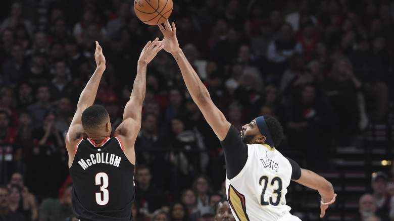 Blazers vs Pelicans, NBA Playoffs 2018