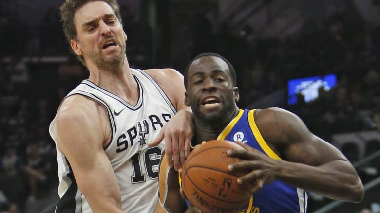 Spurs vs Warriors, NBA Playoffs 2018