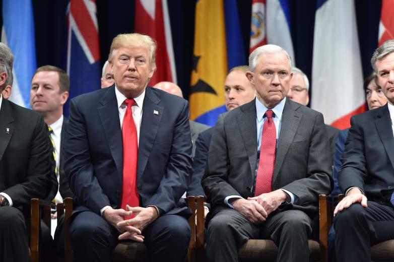 Donald Trump, Jeff Sessions