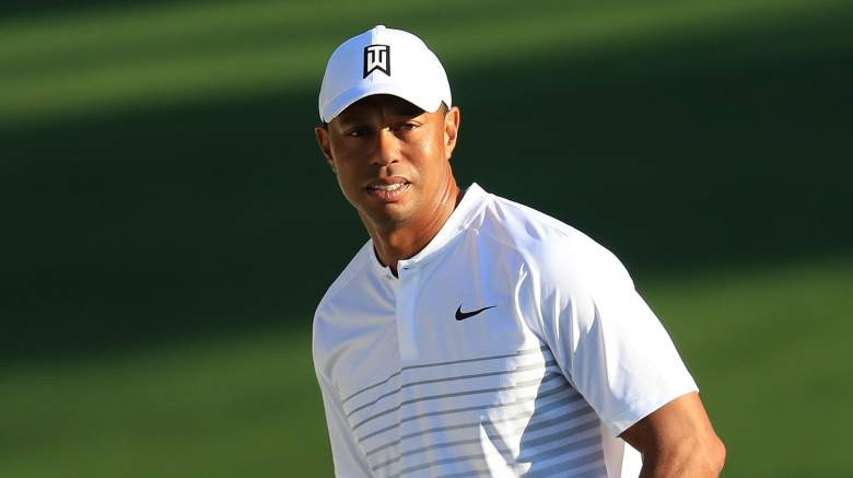 Tiger Woods tee time