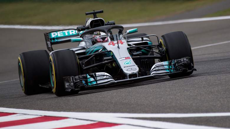 Chinese Grand Prix 2018, Lewis Hamilton