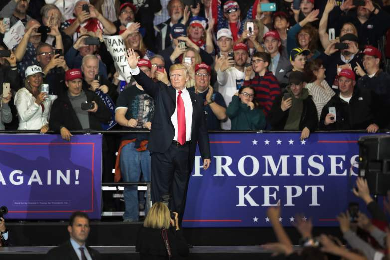 trump michigan rally