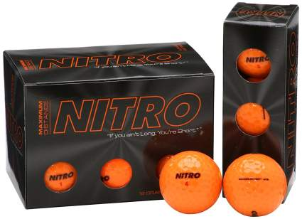 cheap nitro golf balls