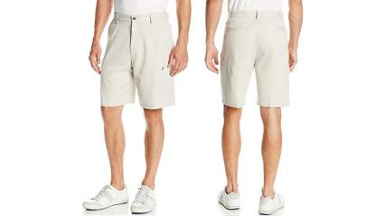 izod mens flat front basic golf cargo shortCargo shorts, mens cargo shorts, mens casual shorts, mens shorts
