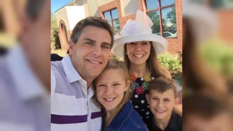 Jennifer Riordan's family