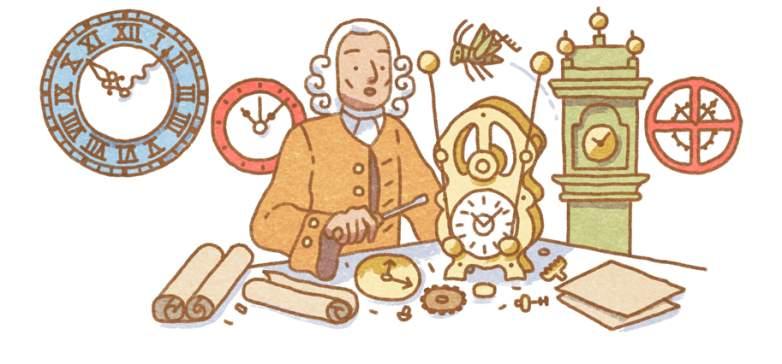 john harrison google doodle, who is john harrison, john harrison biography
