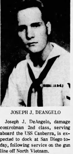 joseph james deangelo navy