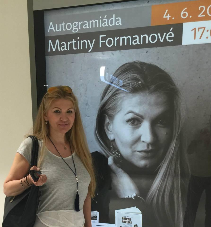 Martina Forman Facebook