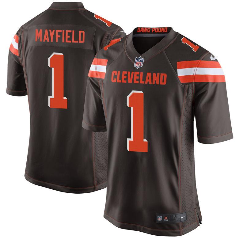 baker mayfield browns jersey shirt