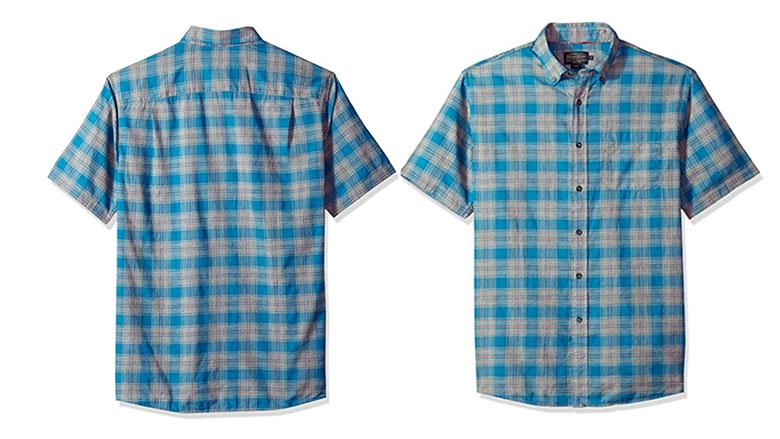 pendleton mens short sleeve tennyson shirt