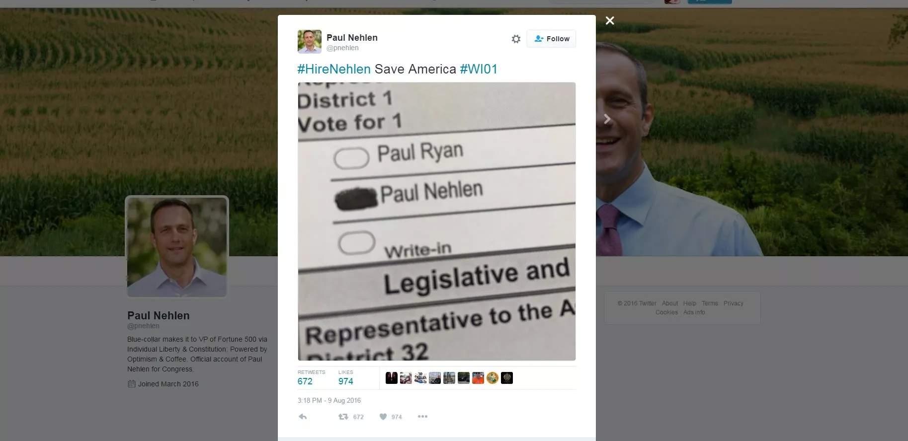 Paul Nehlen tweets