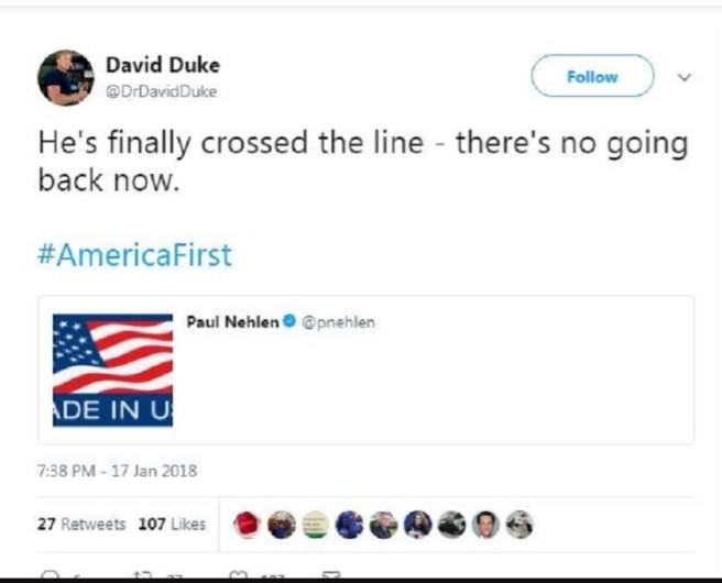 David Duke tweet