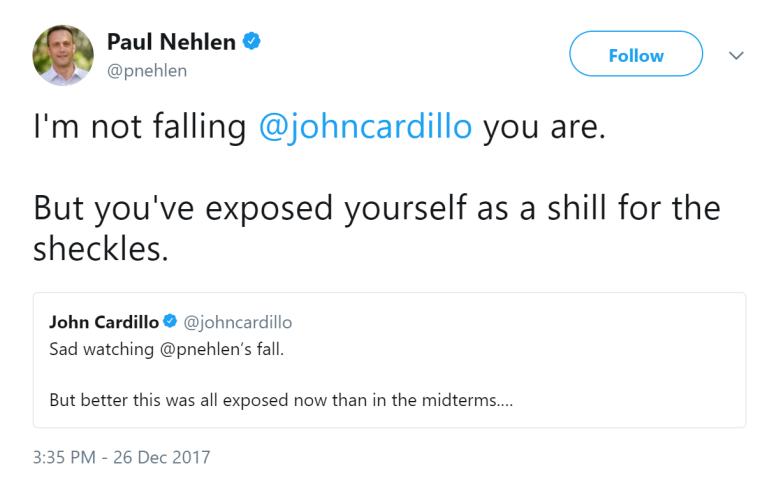 Paul Nehlen, anti-Semitic tweets