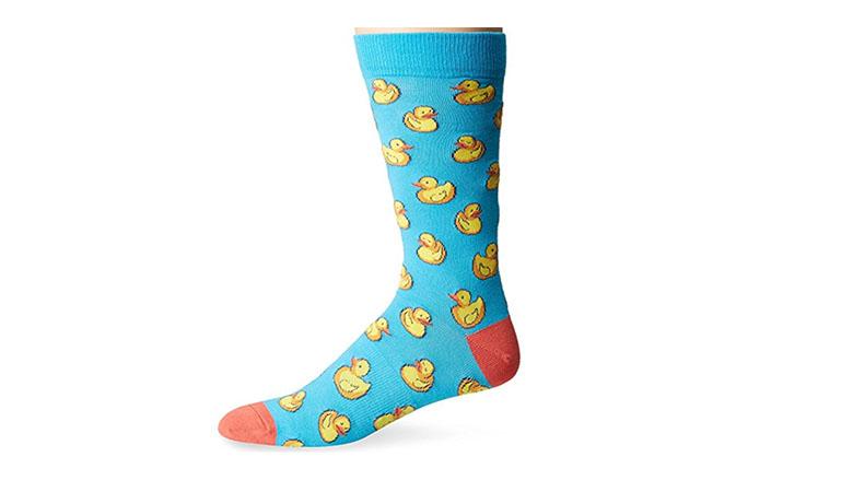 rubber ducky fun socks