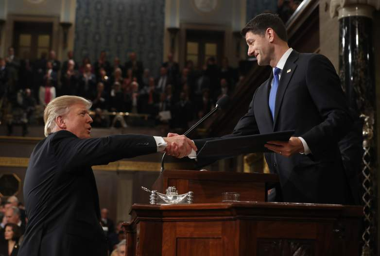 Paul Ryan and Donald Trump